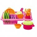 Ecoiffier - Детски комплект кухненски прибори 34 ч.