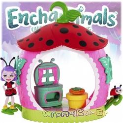 Enchantimals Мини Буболечета Комплект Кухнята на малката Калинка FXM98