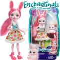 Enchantimals Кукла Зайче Bree Bunny DVH88
