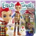 Enchantimals Малка кукла Redward Rooster и петле Cluck GJX39