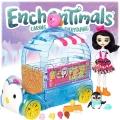 Enchantimals Камион за сладолед с кукла Preena и пингвина Jayla FKY58