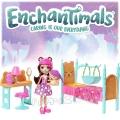 Enchantimals Комплект Спалня на мечтите с Bren Bear и мечето Snore FRH46