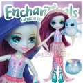 Enchantimals Кукла с променящ се цвят Dolce Dolphin и делфинчето Largo FKV54