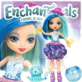 Enchantimals Кукла с променящ се цвят Jessa Jellyfish и медузата Marisa FKV54