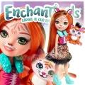 Enchantimals Пазителите на гората Кукла Tanzie Tiger и тигърче Tuft FRH39