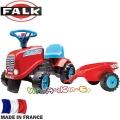 FALK Детски трактор с ремарке GO! Red 200B