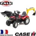 FALK Трактор с преден товарач и педали CASE IH PUMA 995N Red