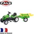 FALK Трактор с педали и инструменти Garden Master Green