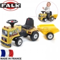 FALK Трактор с ремарке за бутане с крачета Constructor Truck