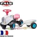 FALK Детски трактор с ремарке GO! Rainbow 206B
