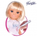 FAMOSA Кукла Nancy Gold с дрехи за декориране Platino