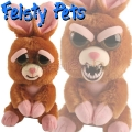 Feisty Pets Плюшена играчка Зайче 3401014