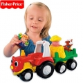 Fisher Price Трактор Little People M1280