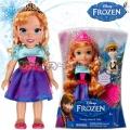 Disney Frozen Мини кукла Принцеса Анна и Олаф с аксесоар