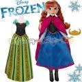 Disney Frozen Кукла Принцеса Анна с две рокли B5171