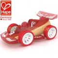 Hape 5500 Дървена количка Red