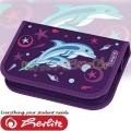 Herlitz Smart Girls Пълен несесер Dolphin 50008360
