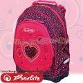 Herlitz Bliss Раница за училище Pink Hearts