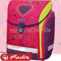 Herlitz MIDI Ученическа раница Pink Hearts