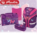 Herlitz Motion Plus Ученическа раница Purple Butterfly