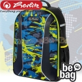 Herlitz be.bag AIRGO Boys Раница Camouflage Lemon