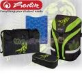 Herlitz Motion Plus Ученическа раница Green Dino