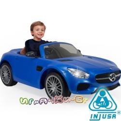 Injusa Акумулаторна кола с дистанционно управление Mercedes AMG GT, 6V 7172