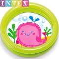Intex Бебешки басейн Весели животинки Кит 59409