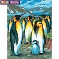 KSG - Рисуване по номера  - Пингвини