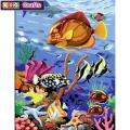 KSG - Рисуване по номера с моливи - Подводен свят