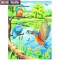 KSG - Рисуване по номера с моливи - Рибарчета
