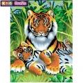KSG - Рисуване по номера - Тигри