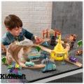 """KidKraft Дървена писта """"Колите"""" Disney Cars 18013"""