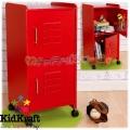 2015 KidKraft - Дървено шкафче Red 14322
