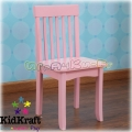 2015 KidKraft - Дървен стол Авалон Pink 16662