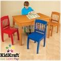 KidKraft 26175 Дървена маса с 4 стола Европа