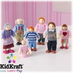 2015 KidKraft - Семейство кукли 12 см. 65202