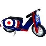 Kiddimoto Scooter - Детски мотор за балансиране Blue Target