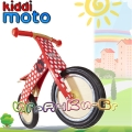 Kiddimoto Kurve - Детско колело за балансиране Red Dotty