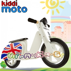 Kiddimoto Scooter - Детски мотор за балансиране Union Jack