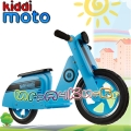 Kiddimoto Scooter - Детски мотор за балансиране Blue Band
