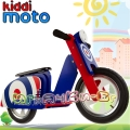 Kiddimoto Scooter - Детски мотор за балансиране Blue Target