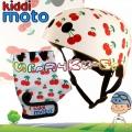 Kiddimoto - Комплект каска и ръкавици Racer Set Cherry