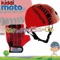 Kiddimoto - Комплект каска и ръкавици Racer Set Red Tyre