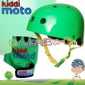 Kiddimoto - Комплект каска и ръкавици Racer Set Green