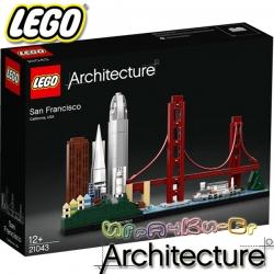 2019 Lego Architecture Сан Франциско 21043