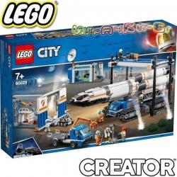 2019 Lego City Сглобяване и транспорт на ракета 60229