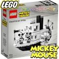 2019 Lego Ideas Mickey Mouse Парният Уили 21317