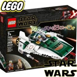 2019 Lego Star Wars A-Wing на съпротивата 75248