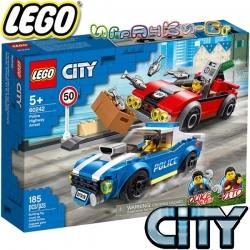 2020 Lego City Полицейски арест на магистралата 60242